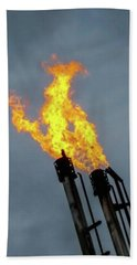 Offshore Flames Beach Towel