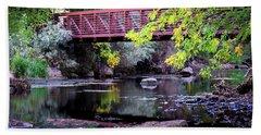 Ogden River Bridge Beach Towel