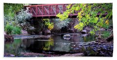 Ogden River Bridge Beach Towel