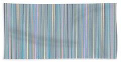 Oh Baby Blue - Stripes Beach Sheet