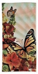 Oh Beautiful Butterfly Beach Towel