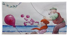 Oh My Bubbles Beach Towel