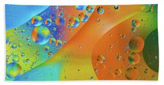 Oil And Water 10 Beach Towel