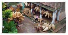 Vietnam Oil Paint Digital Basket Weaving  Beach Sheet