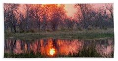 Okavango Delta Beach Towel