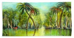Okefenokee Swamp Beach Towel