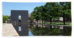 Oklahoma City National Memorial Bombing Beach Towel