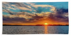 Oklahoma Sunset Beach Towel