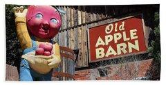 Old Apple Barn Beach Towel