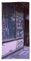 Old Bar, Old Graffitis Beach Sheet