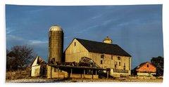 Old Barn 2 Beach Sheet