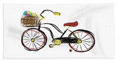 Old Bicycle Beach Towel