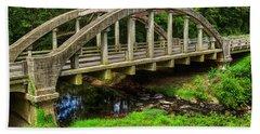 Old Bridge Central Virginia Beach Towel by Melissa Messick