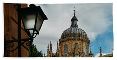 Old Cathedral, Salamanca, Spain  Beach Towel