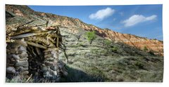 Old Country Hovel Beach Towel by RicardMN Photography
