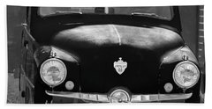 Old Crosley Motor Car Beach Sheet