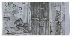 Old Doors 3 Beach Towel