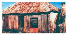 Old Farm House Beach Sheet