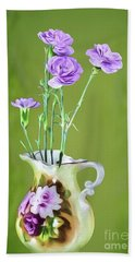 Old Fashioned Bouquet Beach Towel by Shirley Mangini