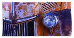 Old Ford Pickup Beach Towel