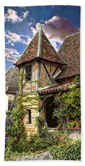 Old French House Beach Towel