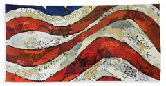 Old Glory II Beach Sheet