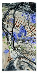Old Growth Wisteria Beach Towel