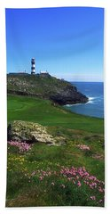 Old Head Of Kinsale Lighthouse Beach Towel