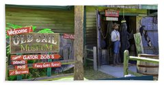 Beach Sheet featuring the photograph Old Jail Museum St. Augustine Florida by Bob Pardue