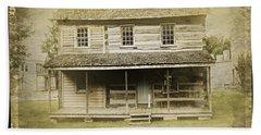 Old Log Cabin Beach Sheet
