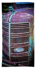 Old Mack Grille Beach Towel