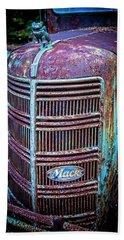 Old Mack Grille Beach Towel