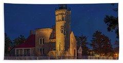Old Mackinac Point Lighthouse Beach Sheet
