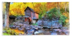 Old Mill Aquarelle Beach Sheet
