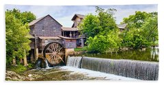 Old Pigeon Forge Mill Beach Towel
