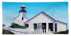 Old Point Loma Lighthouse Beach Towel