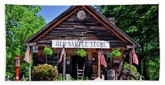 Old Sautee Store - Helen Ga 004 Beach Towel by George Bostian