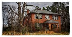 Old School House  Beach Towel by Melissa Messick