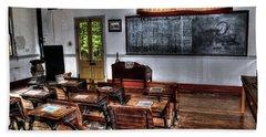 Old School Room Beach Sheet