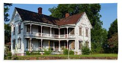 Old Shull Mansion Beach Towel