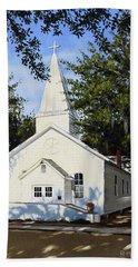 Old St. Andrew Church Beach Towel by Rick McKinney