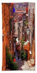 Old Town Dubrovniks Inner Passages Beach Sheet