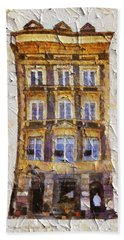 Old Town In Warsaw #21 Beach Towel