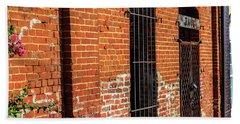 Old Town Jail Beach Sheet