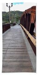 Old Town Temecula Bridge Beach Sheet