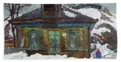 Old Trading House Beach Towel