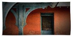 Old Ypsilanti Train Station Beach Sheet