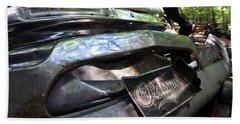 Oldsmobile Bumper Detail Beach Sheet
