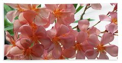 Beach Towel featuring the photograph Oleander Dr. Ragioneri 4 by Wilhelm Hufnagl