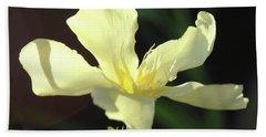 Oleander Marie Gambetta 1 Beach Towel